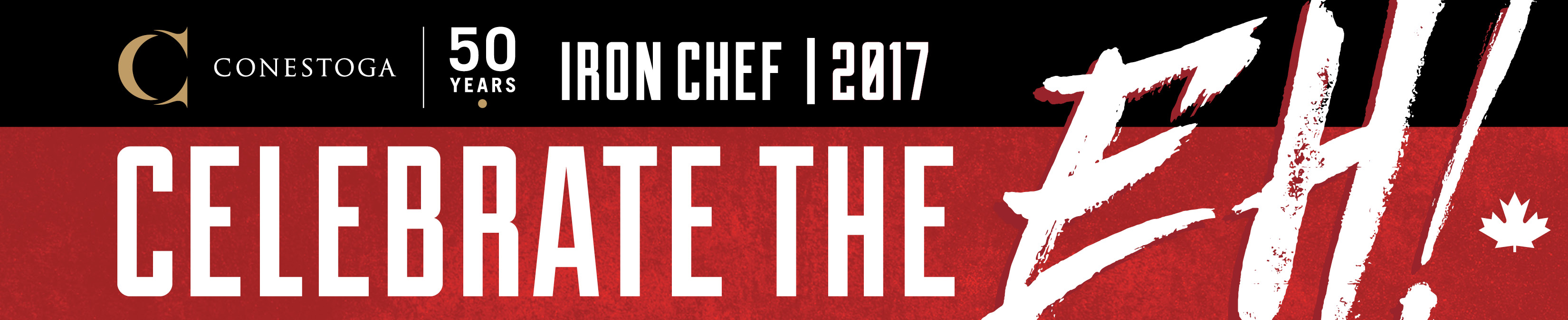 Iron Chef - Celebrate the Eh!